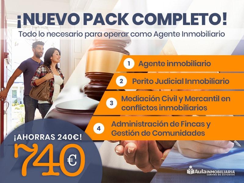 Pack completo Agente Inmobiliario