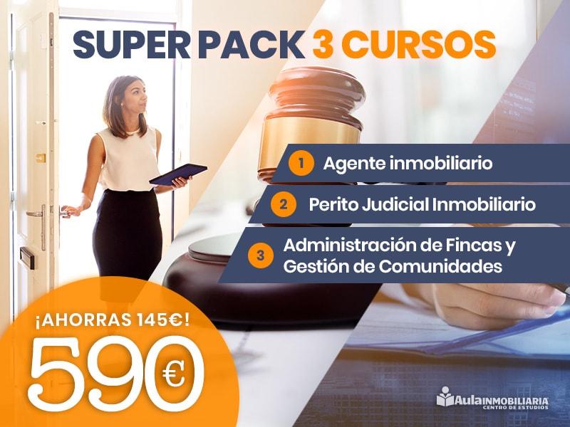 Super Pack 3 Cursos: Agente + Perito + Fincas